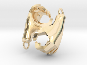 Hands Charm in 14K Yellow Gold