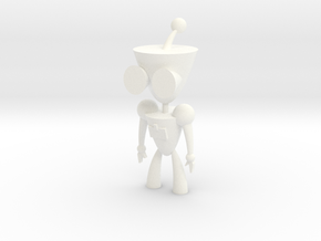 Gir in White Processed Versatile Plastic