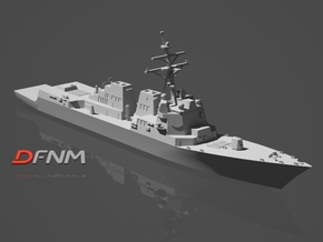 Arleigh Burke IIA (DDG-99 - DDG-106) in White Natural Versatile Plastic: 1:700