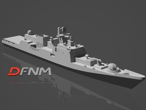 Talwar Class Frigate in White Natural Versatile Plastic: 1:700