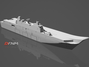 Canberra LHD in White Natural Versatile Plastic: 1:700