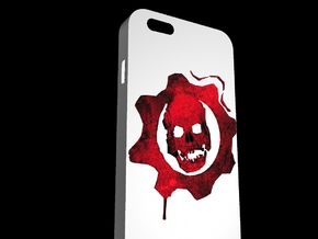 6 Plus Gears Of War in White Natural Versatile Plastic