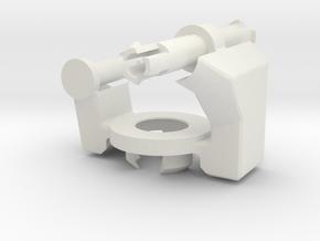 Hand-01-V2 in White Natural Versatile Plastic