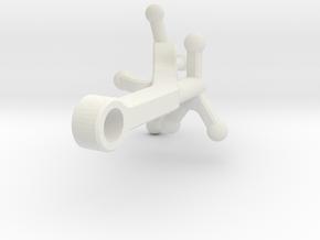 MirrorARM-2 in White Natural Versatile Plastic