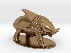 Bulette Miniature in Natural Brass: 1:60.96