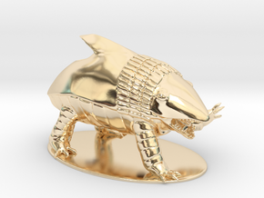 Bulette Miniature in 14K Yellow Gold: 1:60.96