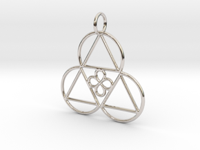 Reality Shift Pendant in Platinum