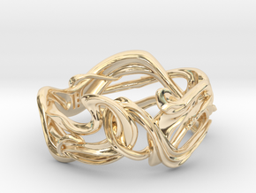 Art Nouveau Ring #1 in 14K Yellow Gold: 5 / 49