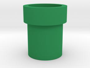 Mario Pipe Flowerpot in Green Processed Versatile Plastic
