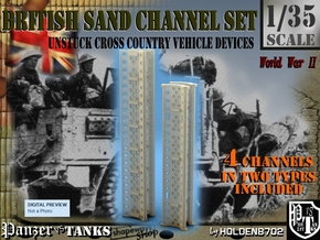 1-35 British Sand Channel Set in Frosted Ultra Detail