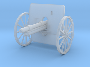 EQ24A Ehrhardt 7.5cm M1901 Field Gun (28mm) in Smooth Fine Detail Plastic