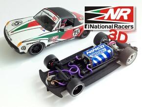 3D chassis - SRC Porsche 914/6 GT (Inline) in Black Strong & Flexible
