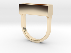 MetaRing - Dreamer Dia 19mm - Ring Body Only in 14K Yellow Gold