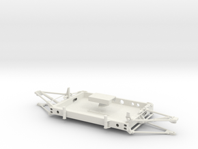 05A-LRV - Forward Platform in White Natural Versatile Plastic