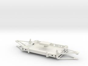 05A-LRV - Forward Platform in White Natural Versatile Plastic