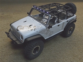 Axial JK 4dr Roof Kit in Black Strong & Flexible