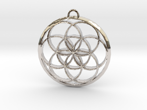 Seed Of Life in Platinum: Large