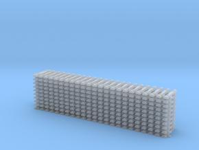 10 Stahlschwelle Gleisjoch Code 55 1:160 in Frosted Ultra Detail