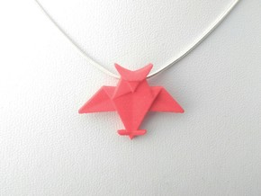 Origami Owl Pendant in Red Strong & Flexible Polished