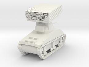 M4 Sherman Calliope in White Natural Versatile Plastic