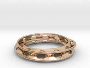 Moebius Rounded 12,5 in 14k Rose Gold
