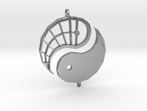 Yin-Yang Friendship Charms in Natural Silver