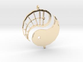 Yin-Yang Friendship Charms in 14K Yellow Gold