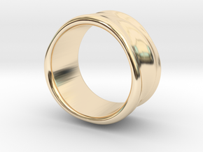 Flow Ring in 14k Gold Plated Brass: 6 / 51.5