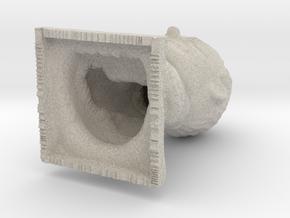 Nekojizo in Natural Sandstone