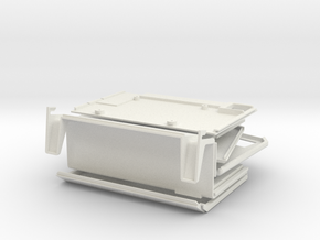 Apple Lisa 1 Raspberry Pi Case in White Strong & Flexible