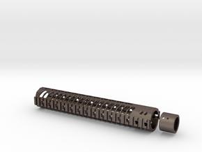 12 inch M4 Keymod/weaver RAIL unit in Stainless Steel