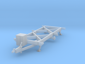 Chassis HO-scale in Smooth Fine Detail Plastic