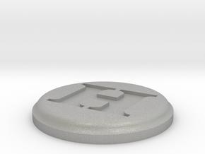 H Medallion in Aluminum