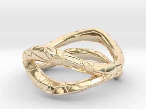 Dual Modern Ring in 14K Yellow Gold: 5 / 49