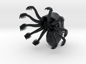 Space-Nautilus 01 in Black Hi-Def Acrylate