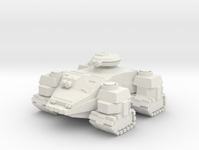 Ground Hog Super Heavy AFV in White Natural Versatile Plastic