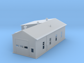 Warehouse Work Shop Z Scale in Smooth Fine Detail Plastic