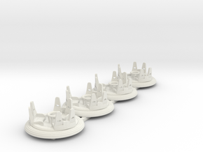 Raging Rapids 4pack in White Strong & Flexible