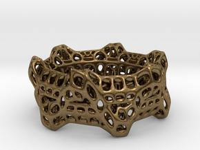 Wheelturning Ring in Natural Bronze