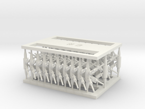 MOF Connector08 (40) in White Natural Versatile Plastic