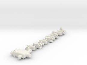 Figure Extreme in White Natural Versatile Plastic