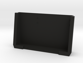 Screen Case in Black Natural Versatile Plastic
