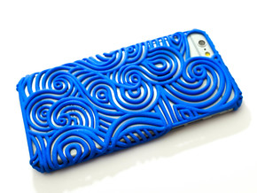 Flow Case for Iphone 6 and 7  in Blue Strong & Flexible Polished