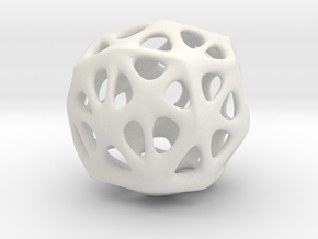 Organic Sphere in White Strong & Flexible