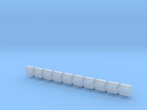 Liniennummernhauben in Smooth Fine Detail Plastic