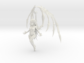 1/20 Zerg Kerrigan Flying in White Natural Versatile Plastic