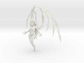 1/20 Zerg Kerrigan Flying in White Natural Versatile Plastic