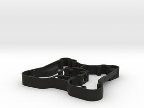 Build Kit 9 - Button Plate Enclosure in Black Natural Versatile Plastic