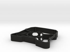 Button Plate Enclosure - Fits Momo Mod 30, Mod 88, in Black Natural Versatile Plastic