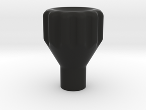 Alps Multi-Control Knob - Knotched in Black Strong & Flexible